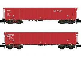 Hobbytrain : H23413 Roldakwagens, 2 stuks (DB AG)