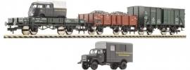 Fleischmann 535203 Set goederenwagens + kleine vrachtwagen