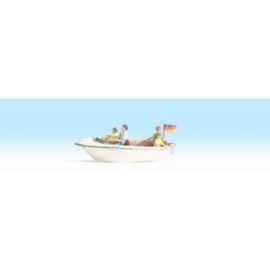 NOCH 16820 # Motorboot met 4 figuren