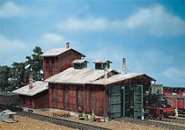 Faller 120161 # Locomotiefloods,  2-sporig