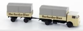 Lemke LC 3610 : Vrachtwagen met aanhanger