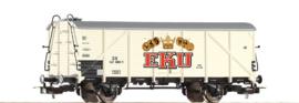 """Piko 54544. Koelwagen """"EKU"""" van de DB"""