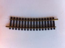 Fleischmann 6032. Gebogen rail 15gr. R2=415mm.