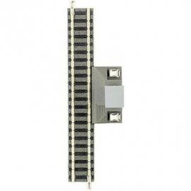 Fleischmann 9108 : Rechte aansluitrail (111 mm)