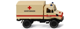 Wiking 086505 : Unimog U 1300 L (Duitse rode kruiswagen)