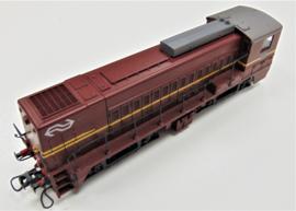 Roco 4155B# Diesellocomotief serie 2200 (Bruin beer) van de NS