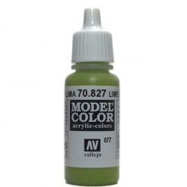 Vallejo 70.827 Lime Green, acryl verf (17 ml)