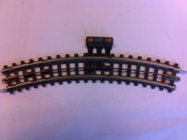 Trix Express (4)710. Gebogen aansluitrail R1  30gr.