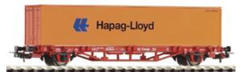 "Piko 57700. Containerwagen Lgs579 ""Hapag-Lloyd"" DB Cargo. Ep V"