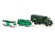 Lemke LC 5012 Set met 3 politiewagens