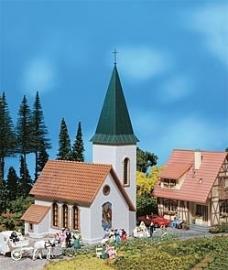 Faller 130240 # Kerk met spitse toren