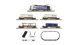931891 - FLEISCHMANN Premium - Digitale startset z21: elektrische locomotief serie 193 en goederentrein