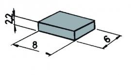 Roco 42256 : Schakelmagneet, 6 stuks