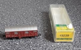 Minitrix 13239 Gesloten goederenwagen (DB)