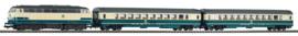 Piko 59007#SmartControl licht Set passagierstrein BR 218 met 2 personenwagens