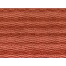 Noch 56690#3D kartonplaat Biberschwanz