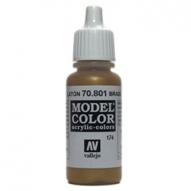 Vallejo 70.801 Brass, acryl verf (17 ml)