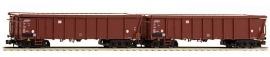 HobbyTrain H23411 : Open goederenwagens, 2 stuks (DB AG)