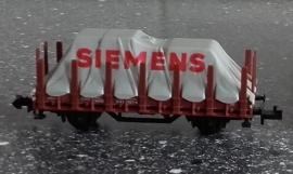 Minitrix 13266 Rongenwagen met dekzeil SIEMENS