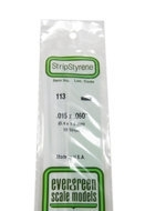 Evergreen 113 : Kunststof Strip 0.4mm x 1.5mm