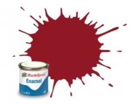 Humbrol 20 : Crimson, gloss