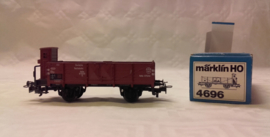 Marklin 4696 : Open goederenwagen met remmershuisje
