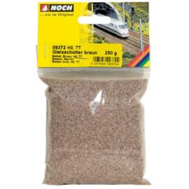 Noch 09372 : Railschotter, bruin (H0-TT)