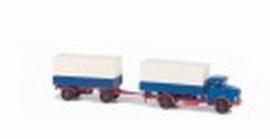 Lemke LC 3405 : Vrachtwagen met aanhanger