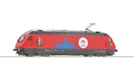 "70657 - Elektrische locomotief 460 058-1 ""Circus Knie"", SBB"