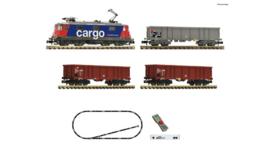 Fleischmann 931893. z21 start Digitale set: Elektrische lokomotief Re 420 met goederentrein, SBB