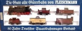 Fleischmann 4886 Duitse staatsbaanset met stoomlocomotief
