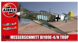 Airfix  A05122A : Messerschmitt Bf109E-4 / N Trop