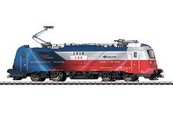 36201 Elektrische locomotief serie 380  CD  Flagge