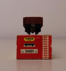 Trix Express 53 3451 00 Open goederenwagen