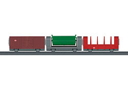 Marklin 44100.Uitbreidingsset voor de goederentrein.