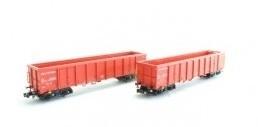 HobbyTrain H23418 # Hogeboordwagens Eanos-201 (NS)