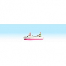 Noch 16815 # Opblaasboot met 2 figuren