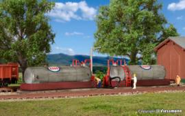 Kibri 37430. Diesel tank-installatie