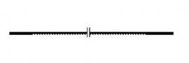 Proxxon 28117 Zaagblad 130 mm (normaal)