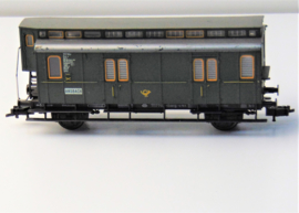 Fleischmann 5050 Postwagen, model van de post 1117 van de DB.