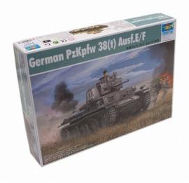 Trumpeter 01577 : Duitse PzKpfw 38(t) Ausf.E/F