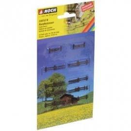 NOCH 33010 # Rondhouten hekken
