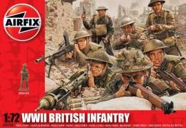 Airfix  A01763 : Britse infanterie  (WWII)
