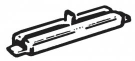 Fleischmann 22214 # Isolerende railverbinders (24 stuks)