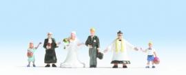Noch 15860 # Huwelijksvoltrekking, 6 figuren