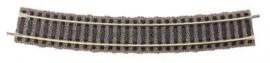 Fleischmann 6138 : Gebogen rail R2