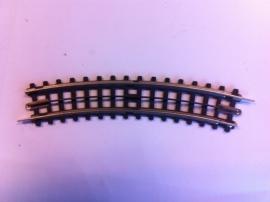 Trix Express (4)702. Gebogen rail R1 24gr.