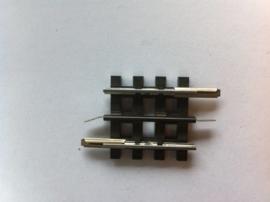 Trix Express 4303. Rechte rail 30,1mm