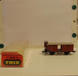 Trix 52 3623 00 : Gesloten goederenwagen met remmershuisje (DR)