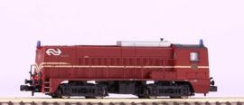 Piko 40443# Diesellocomotief  2271 van de NS (Rood/bruin)